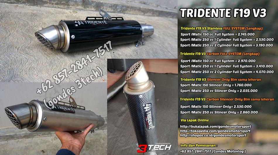 Tridente F19 V3 3 Suara