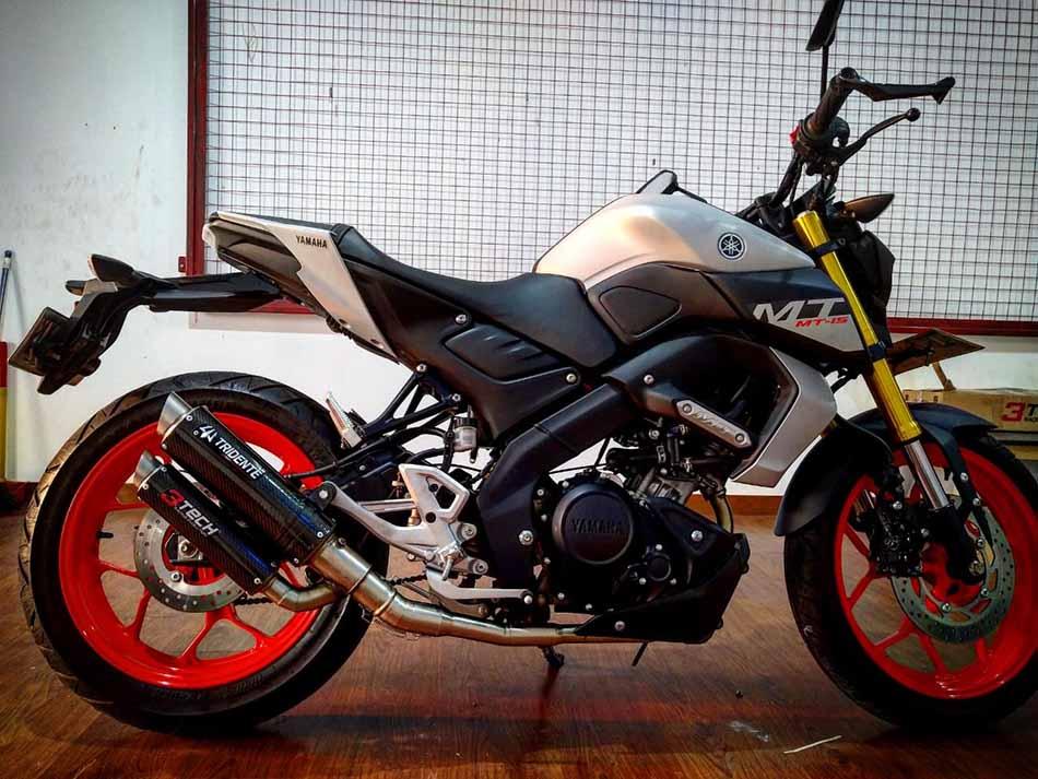 Tridente F22 3 Suara Yamaha MT 15