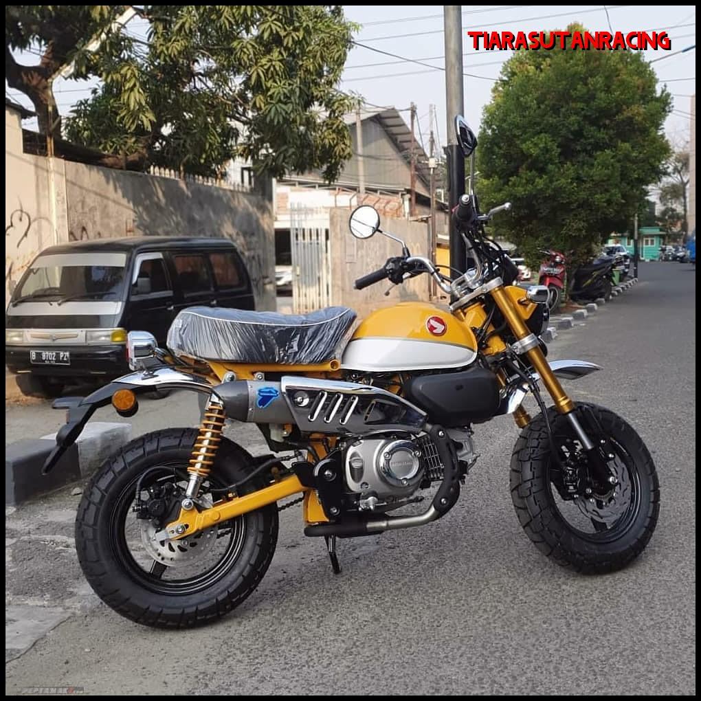 Modif Keren Honda Monkey 125