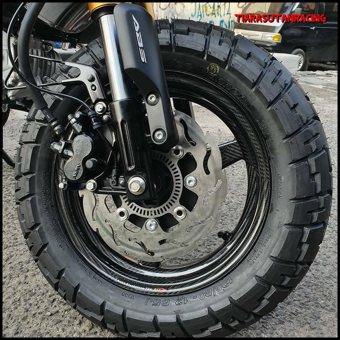 Velg Depan Carbon BST Honda Monkey 125