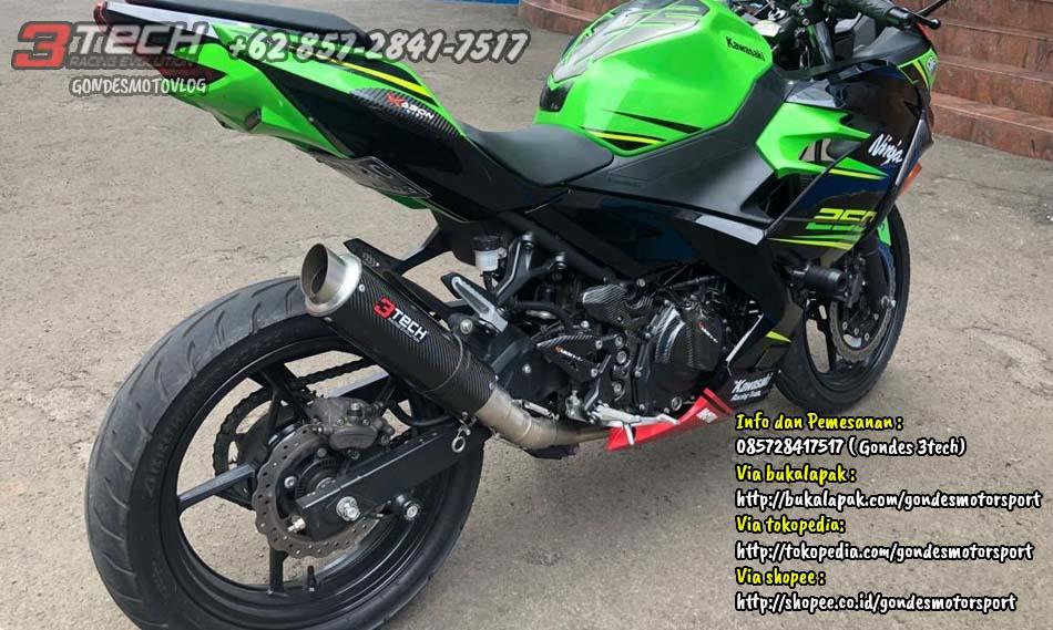 Knalpot Tridente New Ninja 250 FI
