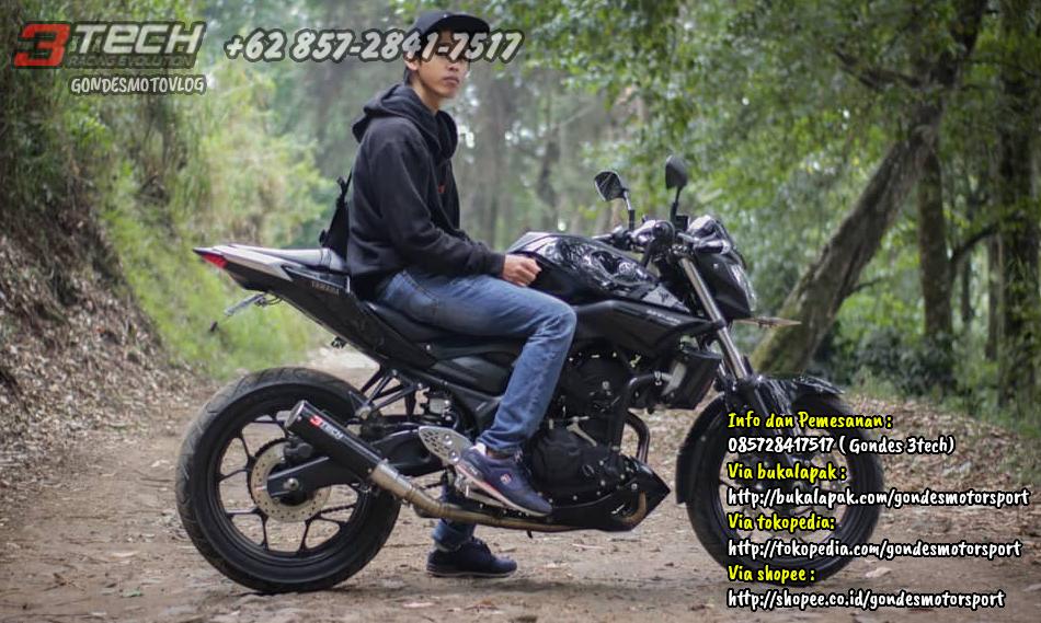 Tridente 3 Suara Yamaha MT 25
