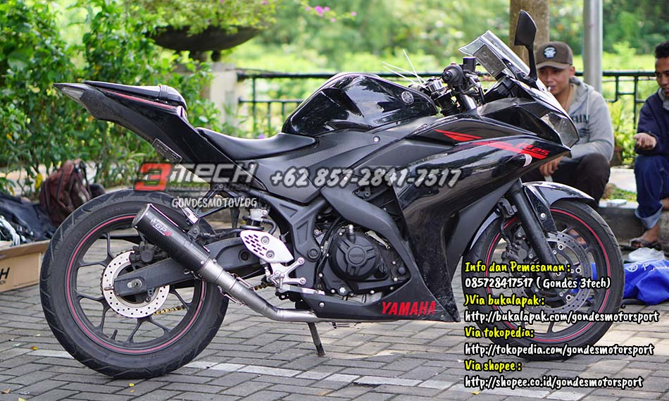 Knalpot Tridente Spartan Yamaha R25