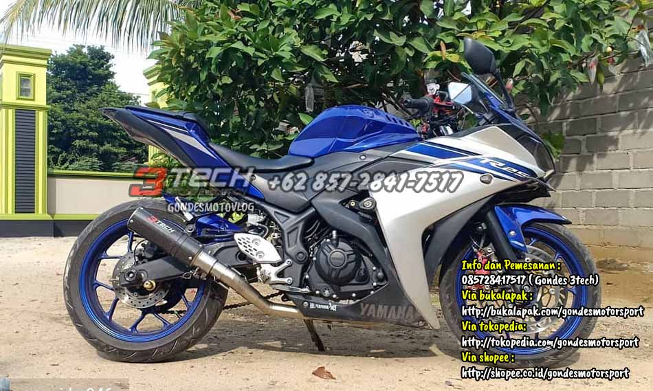 Knalpot Tridente Yamaha R25