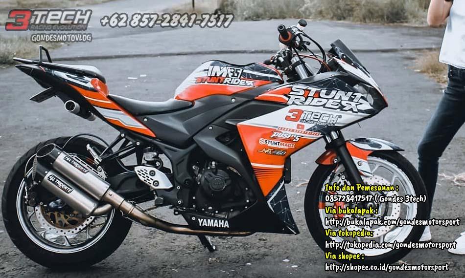 Knalpot Tridente terbaru Yamaha R25