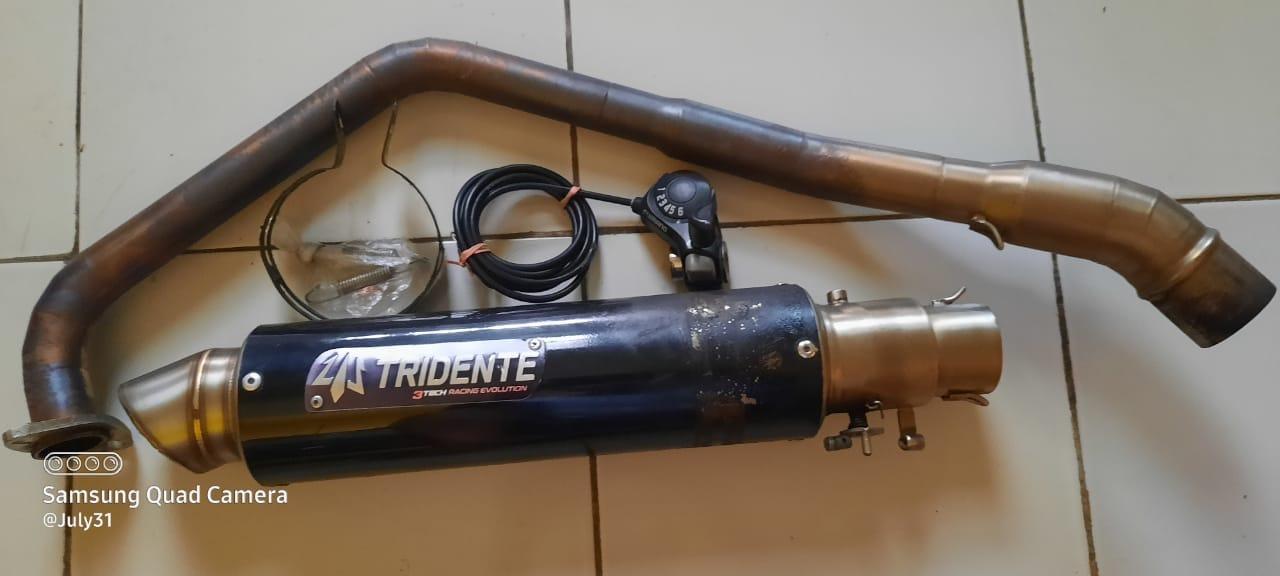 Kekurangan Knalpot Tridente F19